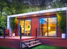 Casa prefabricada de aluminio