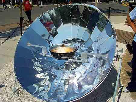 cocina solar sostenible