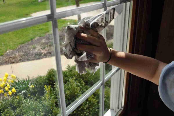 productos naturales para limpiar los cristales y espejos de casa