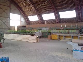 Madera machihembrada para fabricar casas