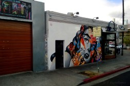 Graffiti Mural - Arts District