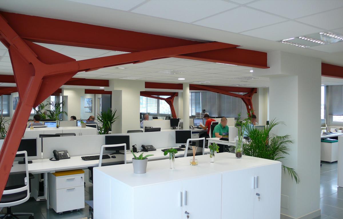 Espacios de trabajo abiertos coworking