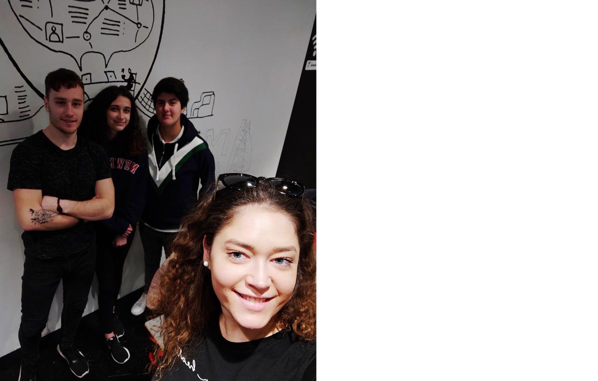 Estudiantes de Erasmus en Icaza Coworking