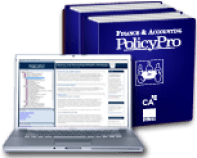Finance and Accounting PolicyPro