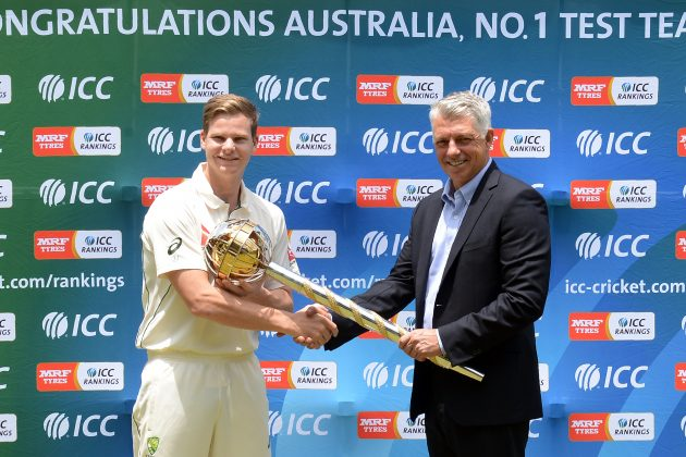 Smith receives ICC Test Championship mace - Cricket News
