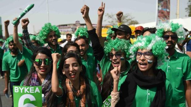 Cricket fans returned to Karachi's National Stadium for the final of the 2018 Pakistan Super League