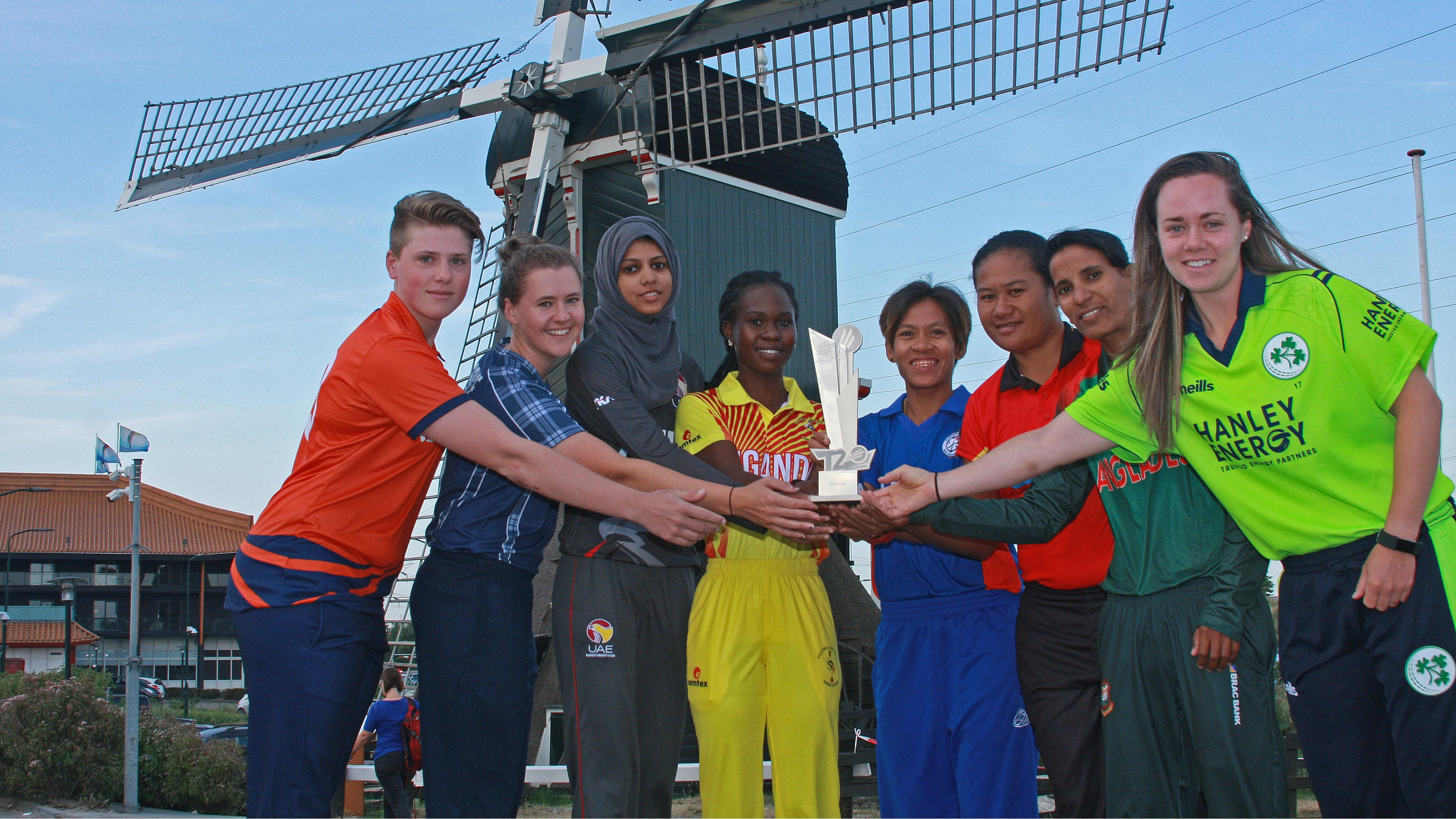 Teams Prepare To Slug It Out For Place In Icc Women S