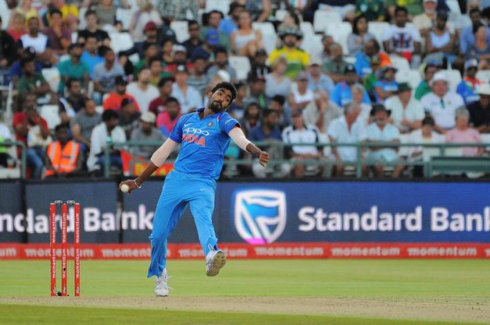 Jasprit Bumrah is at the top of the MRF Tyres ICC ODI Bowling Rankings