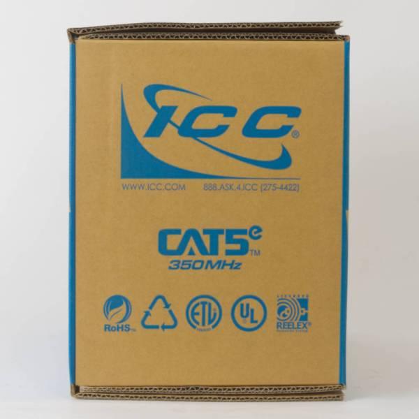 CAT5e Bulk Cable UTP Riser Back ICCABR5EBL
