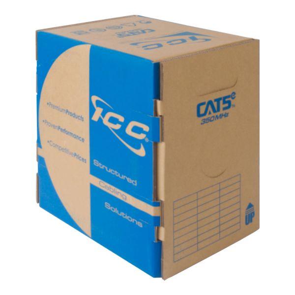 CAT5e Bulk Cable UTP Riser ICCABR5EBL