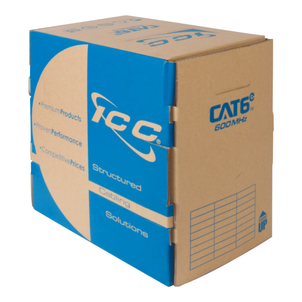 CAT6e Bulk Cable UTP Riser ICCABR6EBL