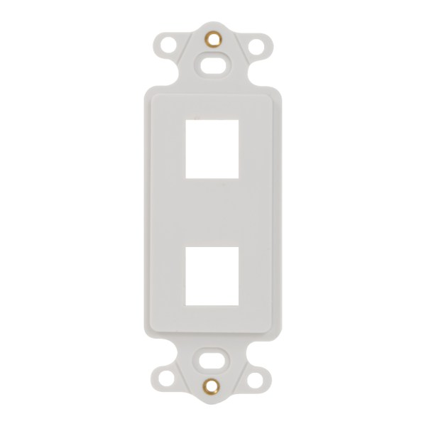 Decorex Insert 2 Ports IC107DI2WH