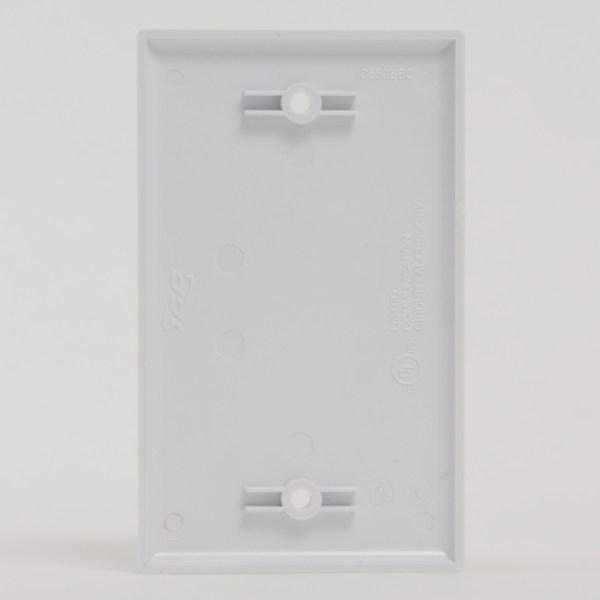 Faceplate Blank Single Gang Back IC630EB0WH