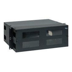 LGX Fiber Optic Rack Mount Enclosure 12 Panels 4 RMS ICFORET4RM