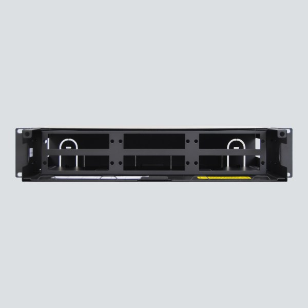 LGX Fiber Optic Rack mount Enclosure 6 Panels 2 RMS Front ICFORE62RM