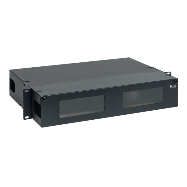 LGX Fiber Optic Rack mount Enclosure 6 Panels 2 RMS ICFORE62RM