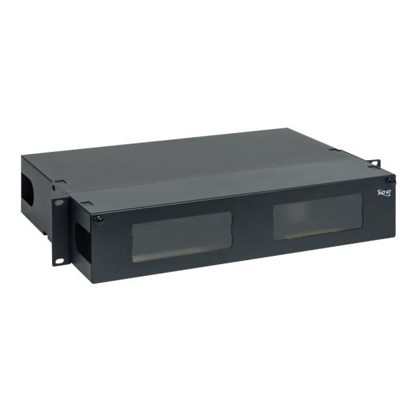 LGX Fiber Optic Rack mount Enclosure 6 Panels 2 RMS ICFORE62RM