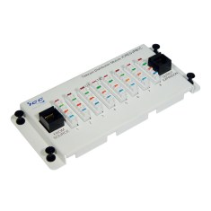 Telephone Expansion Module with Steel Bracket and 8 Ports icresvpb1c