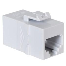 Voice RJ45 Keystone Coupler Pin 1-1 HD Style IC107C6RWH