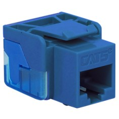 CAT 5e RJ45 Keystone Jack for EZ Style