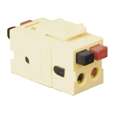 Audio Speaker Connector with Patented Front and Rear Push Buttons for HD Style