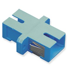 SC Simplex Fiber Optic Adapter with Ceramic Sleeve