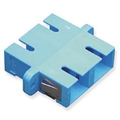 SC Duplex Fiber Optic Adapter with Ceramic Sleeve