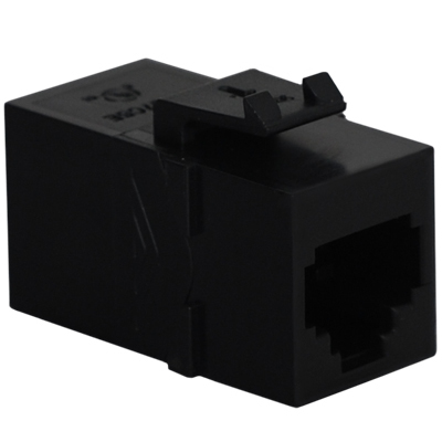 Voice RJ11 Keystone Coupler with Pin 1-6 for HD Style