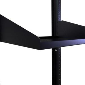 "15"" Deep Vented Single Sided Rack Shelf with 3 RMS"
