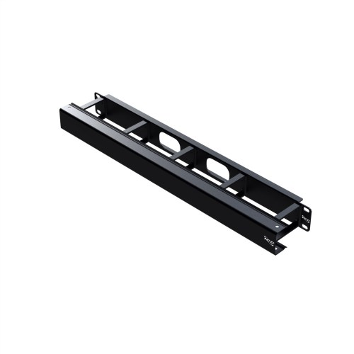 Cable Management Metal Vertical Ring Panel and Cover in 1 RMS