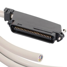 Telco Cable Assembly in Male to Blunt and 25 Pair