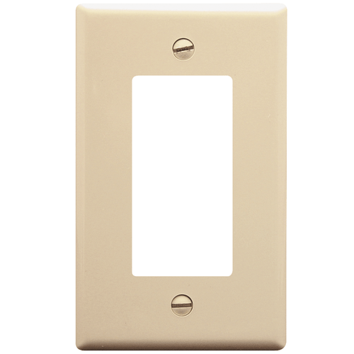 Decorex Faceplate with 1 Insert Space in Single Gang