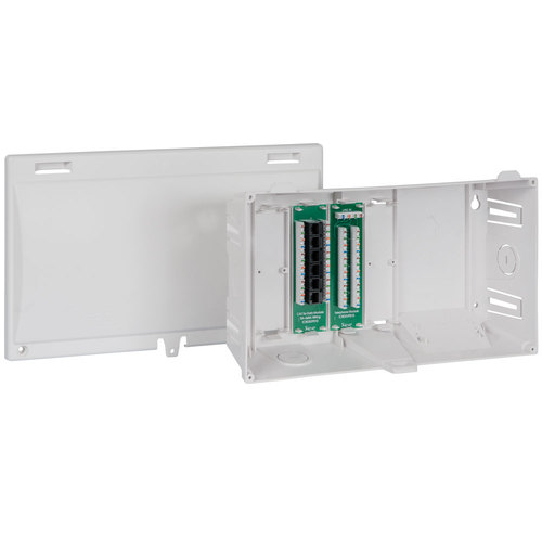 """8"""" Wiring Enclosure Combo 6 Pack with Voice and Data"""