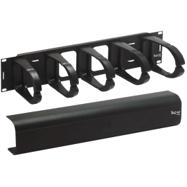 Cable Management Interbay Plastic Panel and Cover in 2 RMS