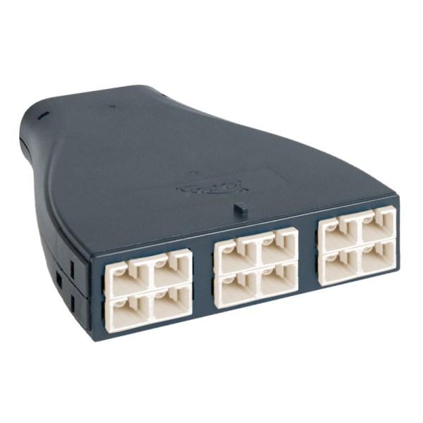 Plastic Cassette SC/MPO, 12F, OM1, 62.5/125