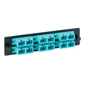 LGX Adapter Panel 6 Duplex SC Aqua ICFOPC161G