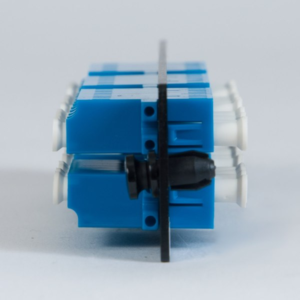 LGX Adapter Panel 6 Quad LC Blue Side ICFOPL1619