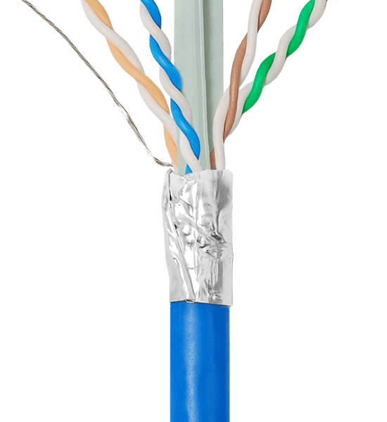 Shielded CAT6A Bulk Cable