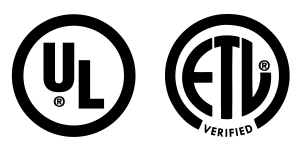 UL Logo and ETL Logo