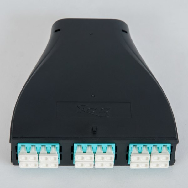 Plastic Cassette LC MPO 24F 10G OM3 50 125 Top ICFC24MLPG