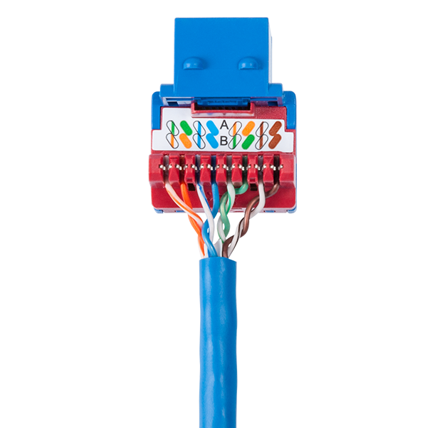 CAT6 HD Keystone Jack and Bulk Cable