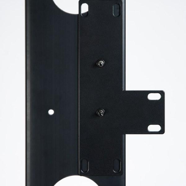 Vertical Plastic Finger Duct 7 Foot Rack 2 Sets Close Up ICCMSC30BK