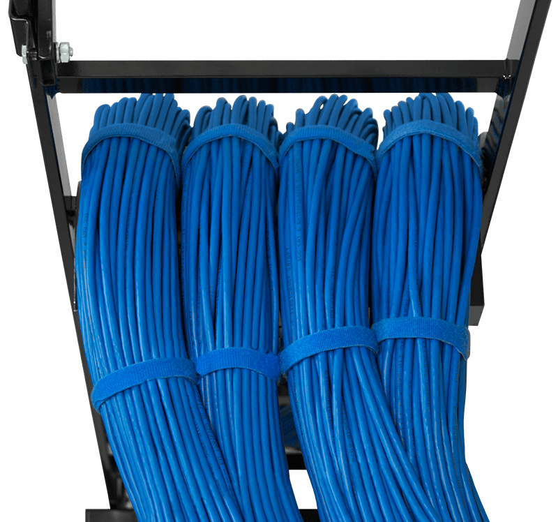 Bulk Cable on Ladder Rack