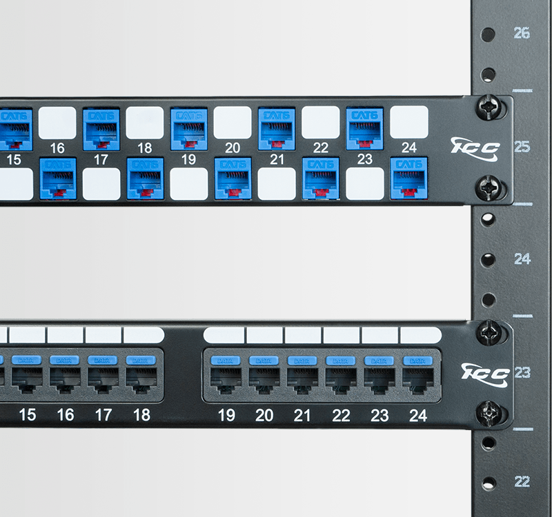 Comparison of Fixed Patch Panel and Modular Patch Panel