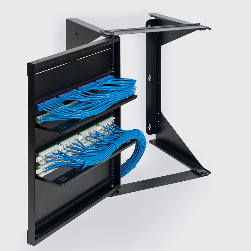 Wall Mount Open Swing Frame Racks