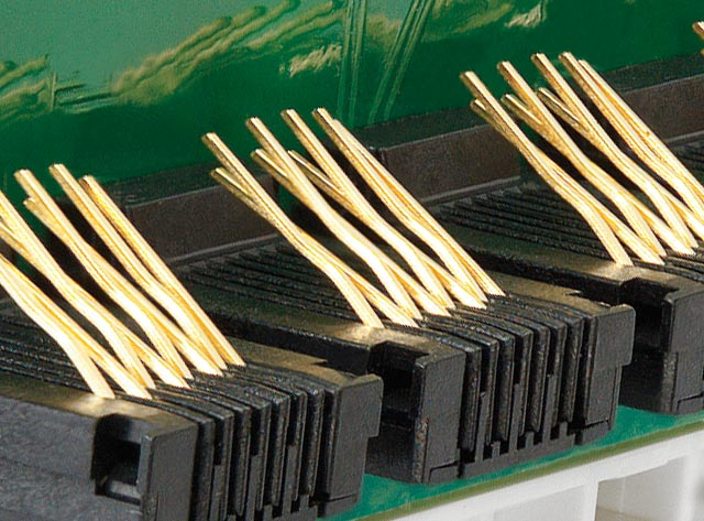 Image of Gold Plating on Patch Panel