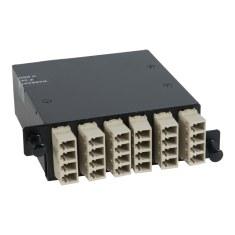 LC-MPO Fiber Optic HD Cassette Beige Multimode Adapters 24 OM1 Fiber ICFC24MLH6