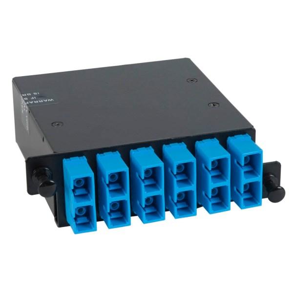 icfc12sch9-sc-mpo-fiber-optic-hd-cassette-blue-singlemode-adapters-12-os1-fibers-1000