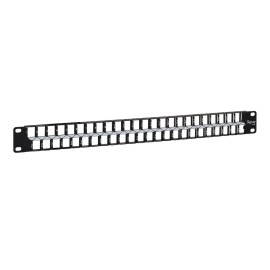 Blank Patch Panel with 48 Ports and 1 RMS for HD Style IC107BP481