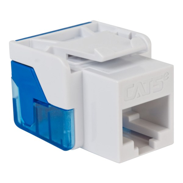 CAT5e RJ45 White Keystone Jack EZ IC1078E5WH